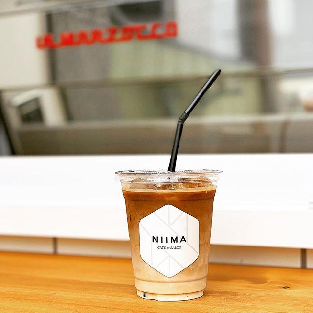 ミルク派のあなたへのイチオシはアイスラテ♪しっかり抽出した2ショットのエスプレッソとミルクのハーモニーがたまりません。無糖派の方にもガムシロップを少し入れるのをオススメします!#niima #niimacafe #niimacafeetsalon #cafe #coffee #ニーマカフェ #ニーマカフェエサロン #南森町 #大阪天満宮 #大阪市北区 #大阪市北区東天満 #東天満カフェ #カフェスタグラム #大阪カフェ巡り #大阪カフェ #大阪珈琲 #エスプレッソ  #lamarzocco #mazzer #french #instacafe #coffeestand #coffeeshop #アイスラテ #アイスカフェラテ